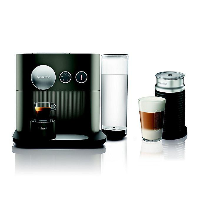 Alternate image 1 for Nespresso® Expert Espresso Machine by De'Longhi with Aeroccino in Anthracite Grey