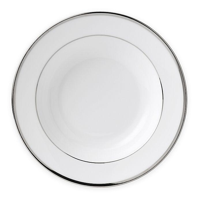 Alternate image 1 for Wedgwood® Sterling Rim Soup Bowl