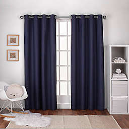 Textured 2-Pack Grommet Top Window Curtain Panels