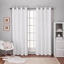 Textured 2-Pack Grommet Top Window Curtain Panels