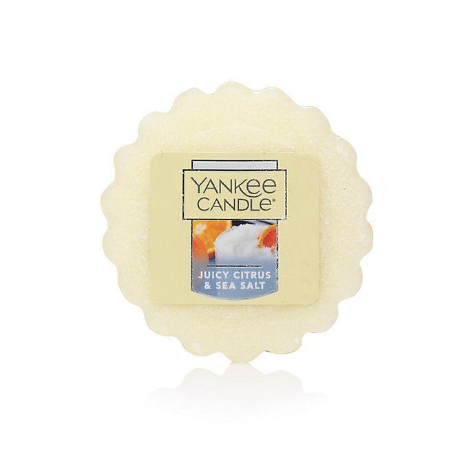 Alternate image 1 for Yankee Candle® Housewarmer® Tarts® Juicy Citrus & Sea Salt Wax Melt