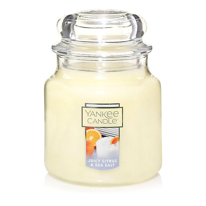 Alternate image 1 for Yankee Candle® Housewarmer® Juicy Citrus & Sea Salt Medium Jar Candle