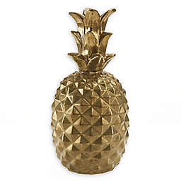 Madison Park Signature Pineapple Sculpture in Gold