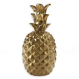 Madison Park Signature Pineapple Sculpture in Gold