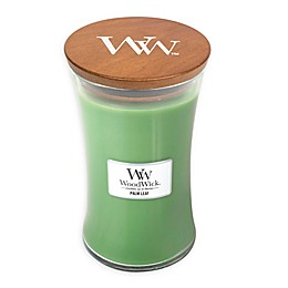 WoodWick® Palm Leaf Large Hourglass Jar Candle