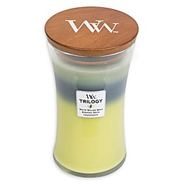 WoodWick® Trilogy Woodland Shade Large Hourglass Jar Candle