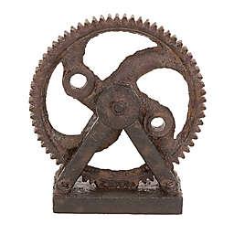 Ridge Road Décor Gearwheel Sculpture
