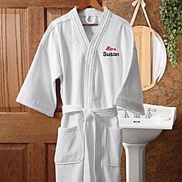 """Hers"" White Spa Robe"