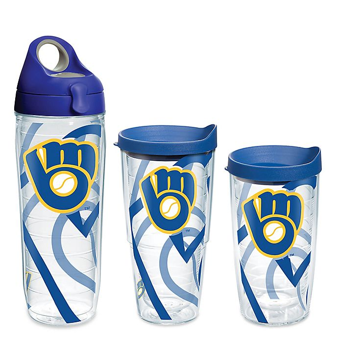 b34d4a0254c Tervis® MLB Milwaukee Brewers Genuine Wrap Drinkware with Lid
