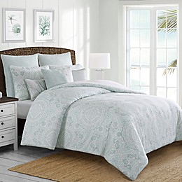 Coastal Life Seaside Medallion Comforter Set
