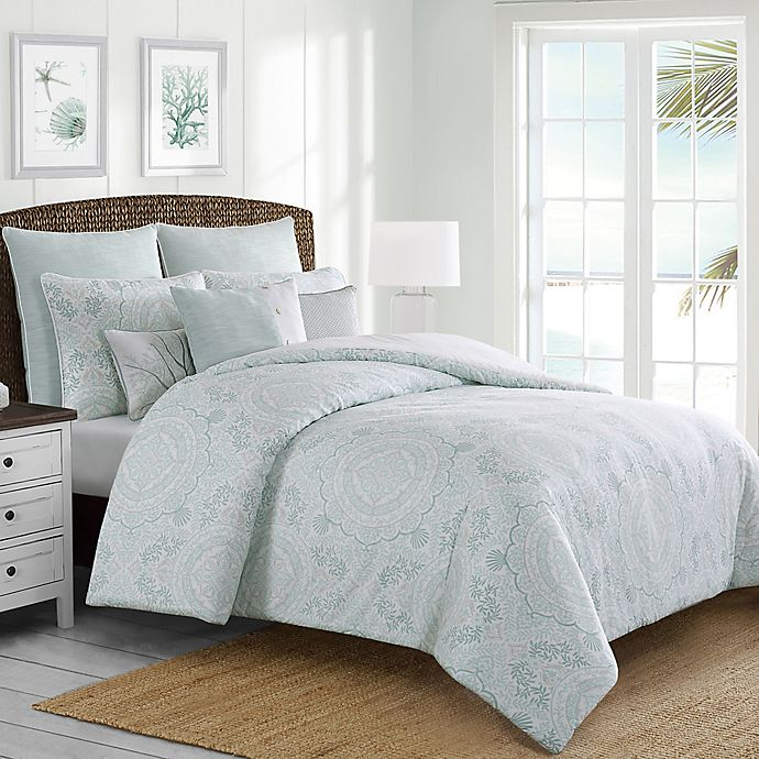 Alternate image 1 for Coastal Life Seaside Medallion Comforter Set