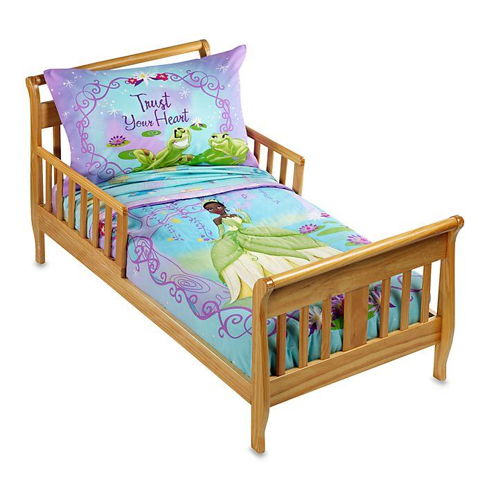 Disney The Princess and The Frog 4-Piece Toddler Bedding Set ...