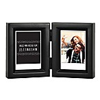 Gallery 2-Opening 2.5-Inch x 3.5  Wood Frame in Black