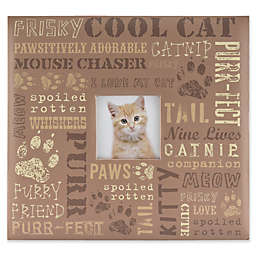 Cat Typography Scrapbook with Window