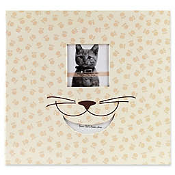 Cat-Themed Scrapbook with Window