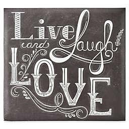 Live Laugh Love Scrapbook