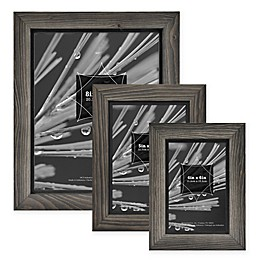 Timber Wood Frame in Grey/Black