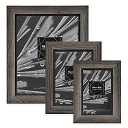 Timber Wood Frame in Grey/Black
