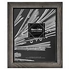 Timber 8-Inch x 10-Inch Wood Frame in Grey/Black
