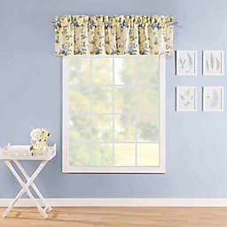 Laura Ashley Cassidy Pole Top Valance Yellow