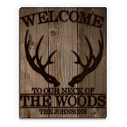 Astra Art Neck of the Woods Wood Wall Art