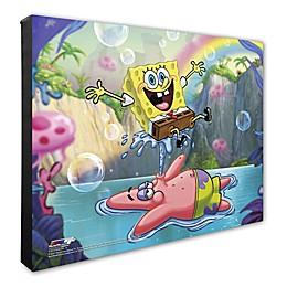 SpongeBob SquarePants 16-Inch x 20-Inch Canvas Photo Wall Art