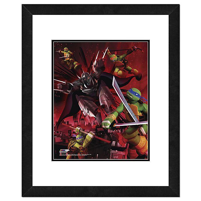 Alternate image 1 for Teenage Mutant Ninja Turtles Battle 18-Inch x 22-Inch Framed Photo Wall Art
