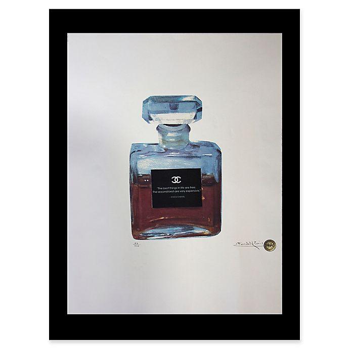 Alternate image 1 for Fairchild Paris Blue Chanel No. 5 Ad Print Wall Art