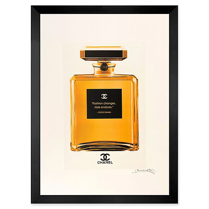 Alternate image 1 for Fairchild Paris Golden No. 5 Ad Print Wall Art
