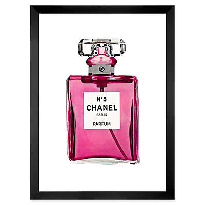 Fairchild Paris Chanel No. 5 Perfume Bottle 24-Inch x 18-Inch Frame Wall Art