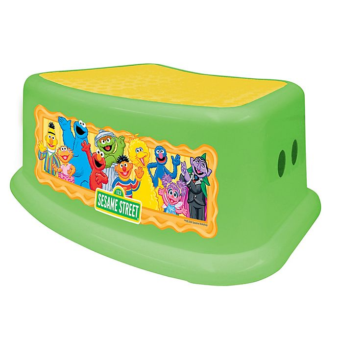 Ginsey Sesame Street Step Stool Bed Bath Amp Beyond