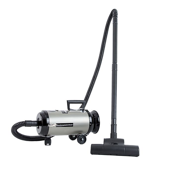 Alternate image 1 for Metrovac® Metropolitan Professionals Evolution Compact Canister Vacuum in Nickel/Black