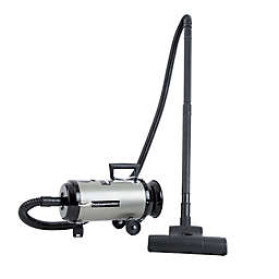 Metrovac® Metropolitan Professionals Evolution Compact Canister Vacuum in Nickel/Black
