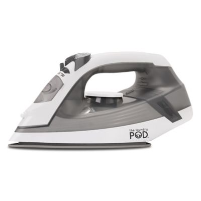 Laundry Pod Express Steam Iron In Grey Bed Bath Amp Beyond