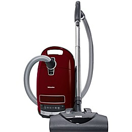 Miele Complete C3 Cat & Dog Cannister Vacuum in Red