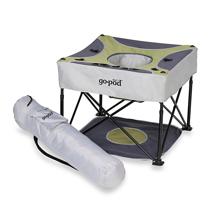 Alternate image 1 for KidCo® Go-Pod™ Activity Seat in Pistachio