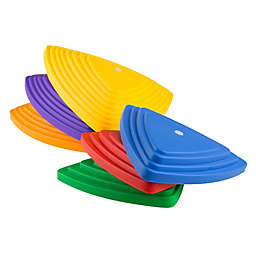 Hey! Play! Triangular Stepping Stones (Set of 6)