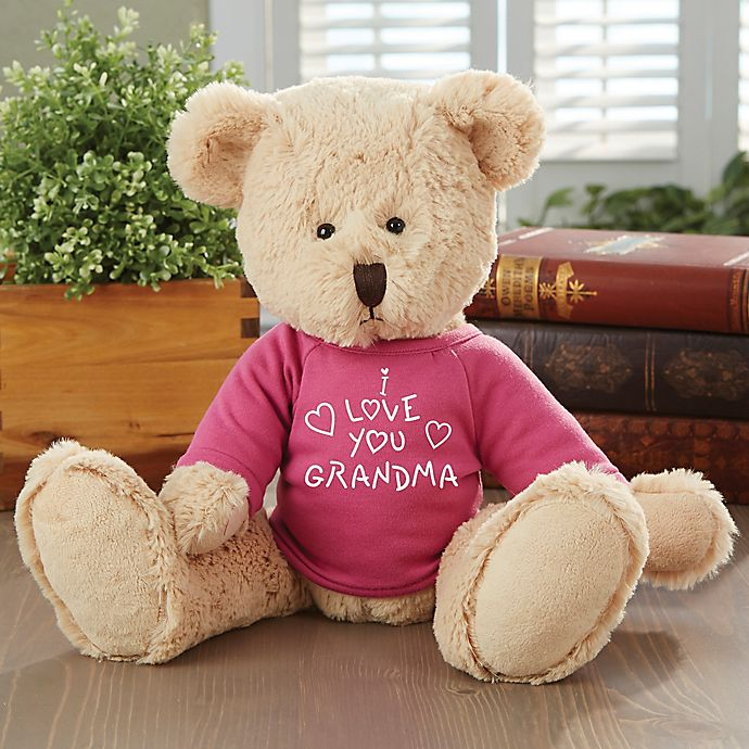 Alternate image 1 for All My Love Personalized Teddy Bear