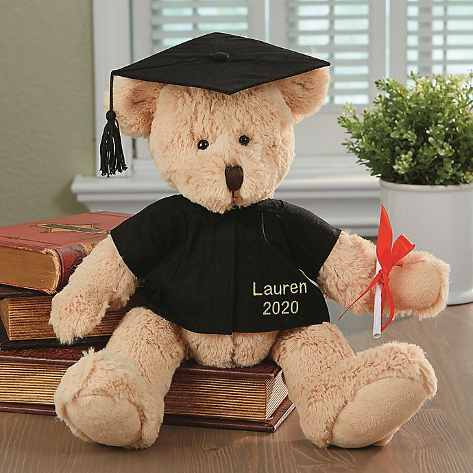 Alternate image 1 for Personalized Graduation Teddy Bear