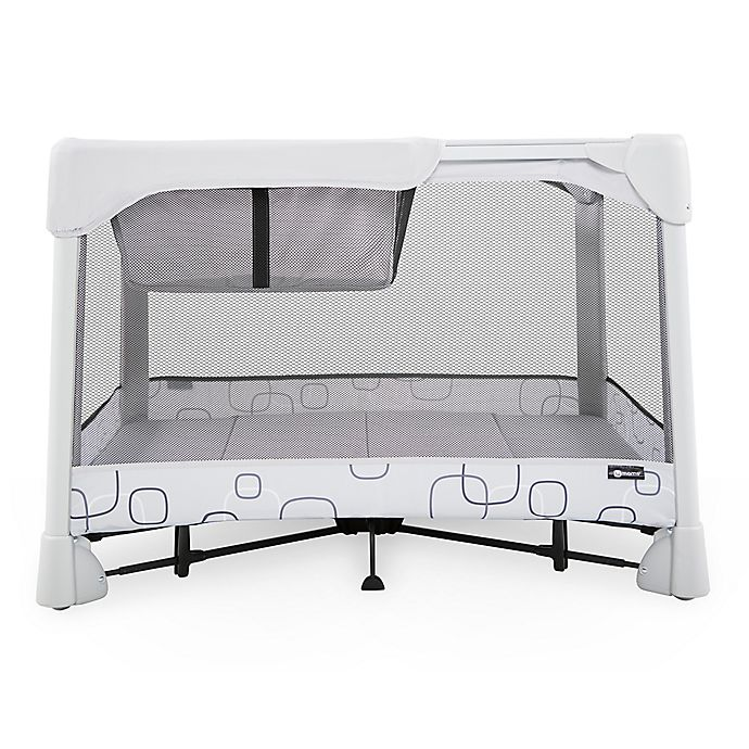 4moms® Breeze Classic Playard in Light Grey | buybuy BABY
