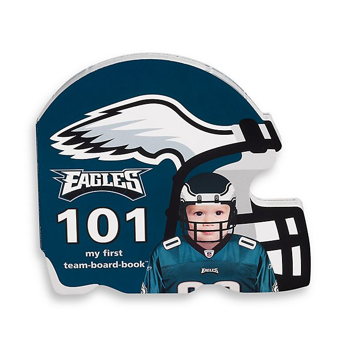 new style 8947b 10674 NFL Philadelphia Eagles 101 Children's Board Book | buybuy BABY