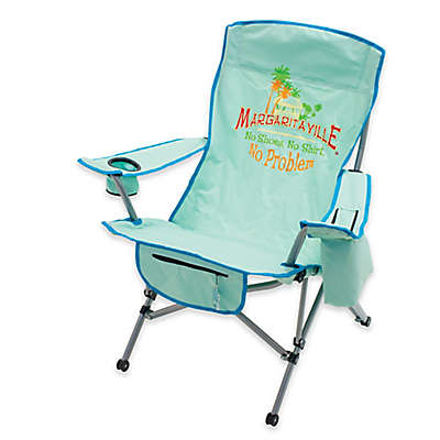 Margaritaville® Camp Chair in Green/Blue