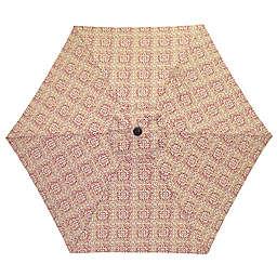 7.5-Foot Round Replacement Canopy Umbrella in Red Block
