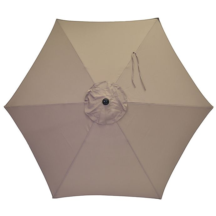Alternate image 1 for 7.5-Foot Round Replacement Canopy Umbrella in Grey