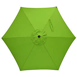 7.5-Foot Round Replacement Canopy Umbrella in Palm