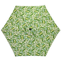 7.5-Foot Round Replacement Canopy Umbrella in Tropical Palm