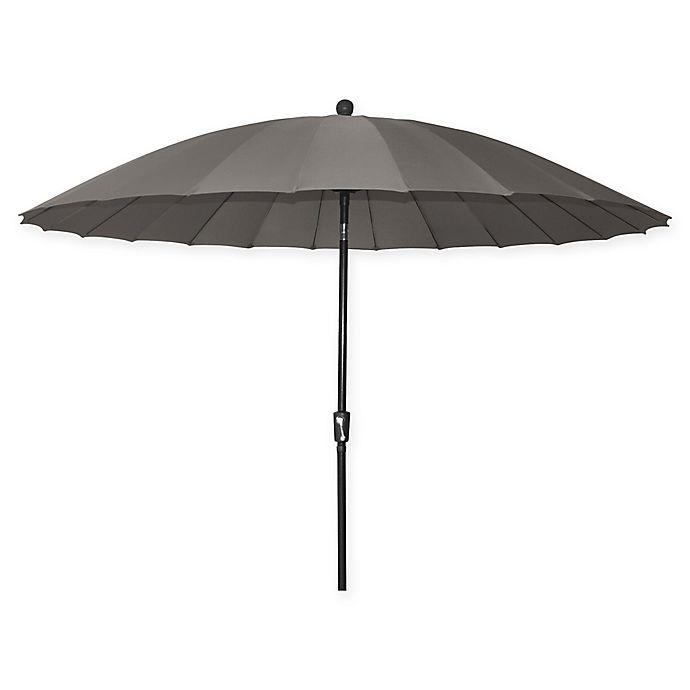 Alternate image 1 for 10-Foot Shanghai Market Umbrella in Grey
