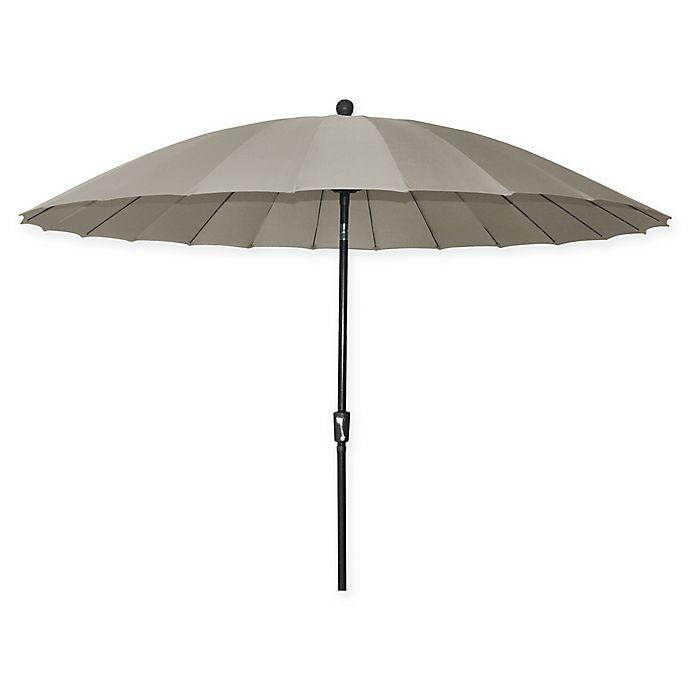 Alternate image 1 for 10-Foot Shanghai Market Umbrella in Khaki