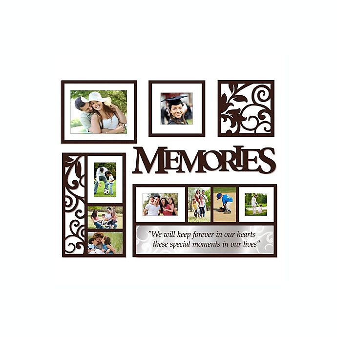 Wallverbs Memories 6 Piece Frames And Plaques Set Bed Bath Beyond