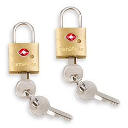 Samsonite® Brass Locks (Set of 2)